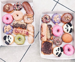 donuts, food, and cake image