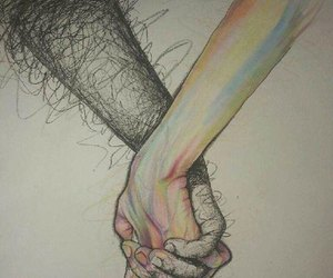 2gether, hands, and together image