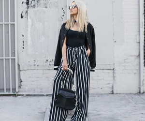 black, blond, and fashion image