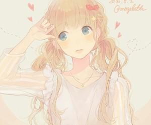 anime, manga girl, and honeyworks image