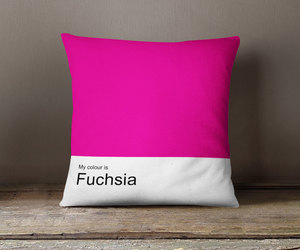 bedroom, yellow pillow, and pink pillow cover image