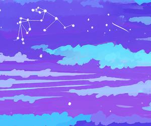 aquarius, wallpaper, and stars image