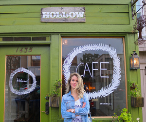 cafe, california, and coffee shop image