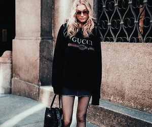 elsa hosk, fashion, and gucci image