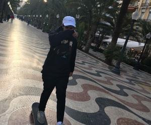 alicante, skate, and skater image