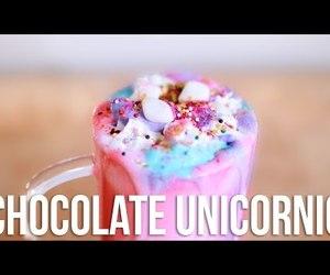 chocolate, diy, and unicorn image