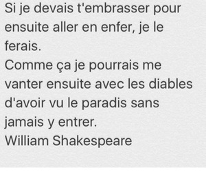 quote, french, and shakespeare image