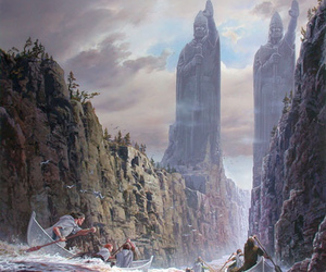 art, beautiful, and lord of the rings image