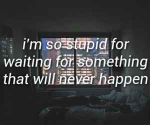quotes, stupid, and grunge image