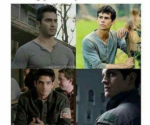 teen wolf, tyler posey, and sterek image
