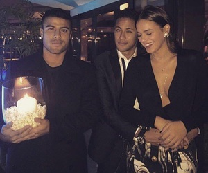 neymar, bruna marquezine, and couple image