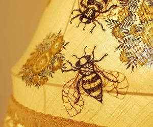 bee, yellow, and hufflepuff image