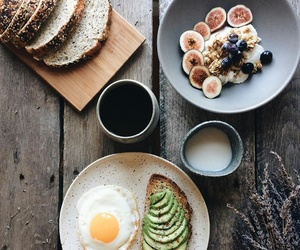 food, breakfast, and cereals image