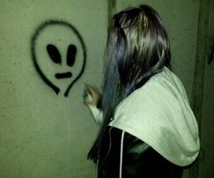 alien, grunge, and tumblr image