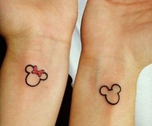 tattoo, mickey, and disney image