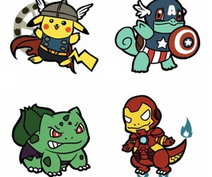 pokemon, pikachu, and Hulk image