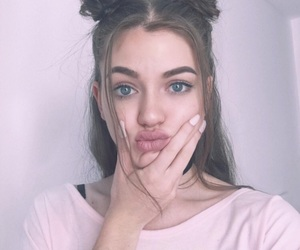 girl, dytto, and hair image
