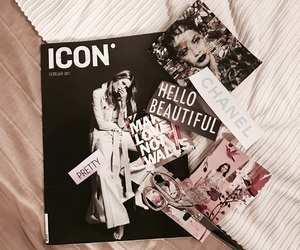 chanel, Collage, and fashion image
