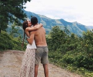 beautiful, couple, and paradise image