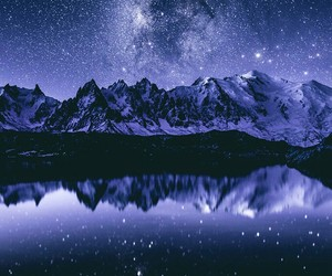 nature, night, and wallpaper image