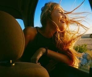 aesthetic, happy, and girl image