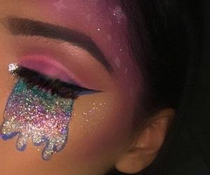 makeup, art, and eyeliner image