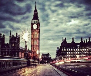 Big Ben, london, and clouds image