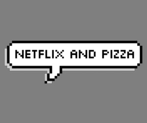overlay, pixel, and pizza image