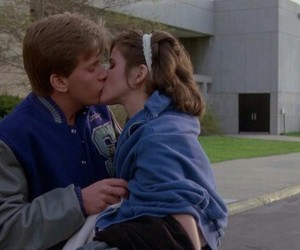 The Breakfast Club, kiss, and couple image