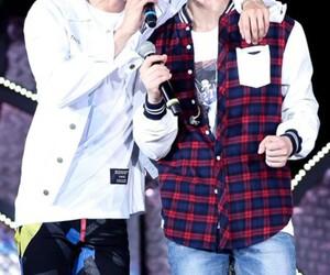 kpop, Minho, and Onew image