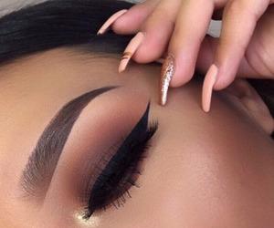 beauty, hair, and eyeshadow image