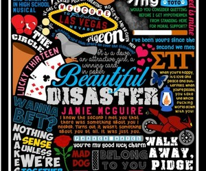 beautiful disaster, book, and travis maddox image