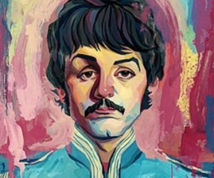 60's, art, and george harrison image