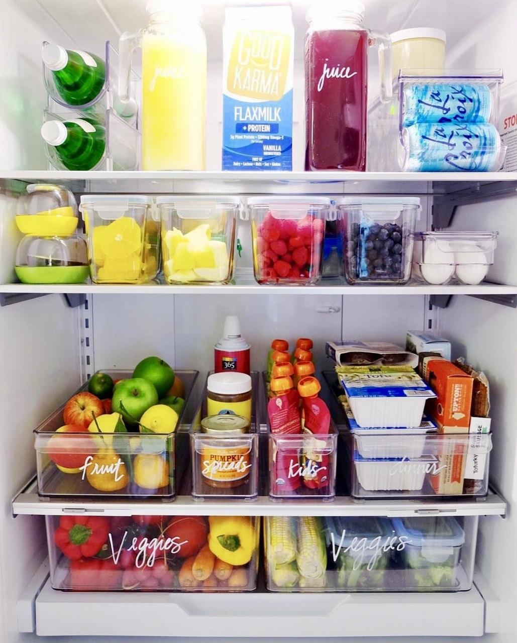 fridge, food, and healthy image