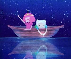 adventure time, finn, and stars image