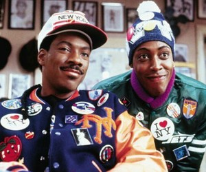 coming to america and eddie murphy image