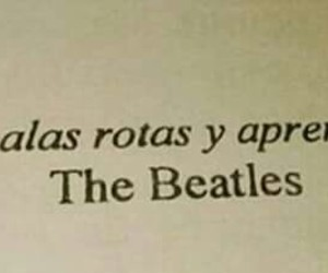 Alas and the beatles image