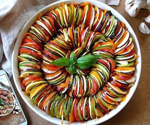 food, ratatouille, and healthy image
