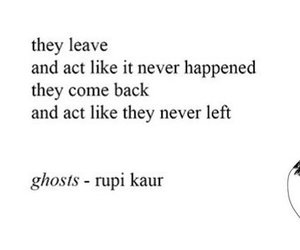 b&w, ghosts, and poems image