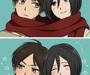 adorable, anime couples, and snk image