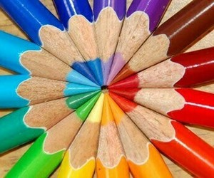 pencil, color, and colorful image