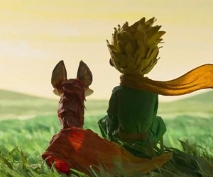 the little prince, fox, and prince image