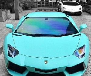 car, blue, and turquoise image