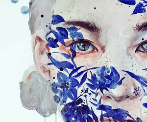 art, agnes cecile, and flowers image