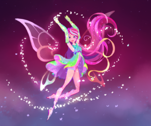 art, fairy, and girl image