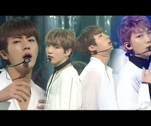 jin, bts, and spring day image