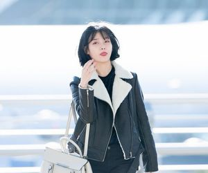 airport, asian, and fashion image