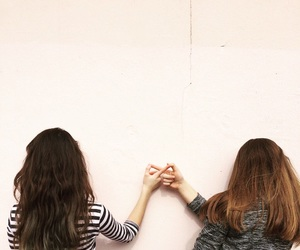 bff, forever, and girl image