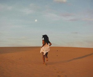 girl, desert, and photography image