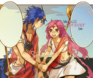 anime, solomon, and magi image